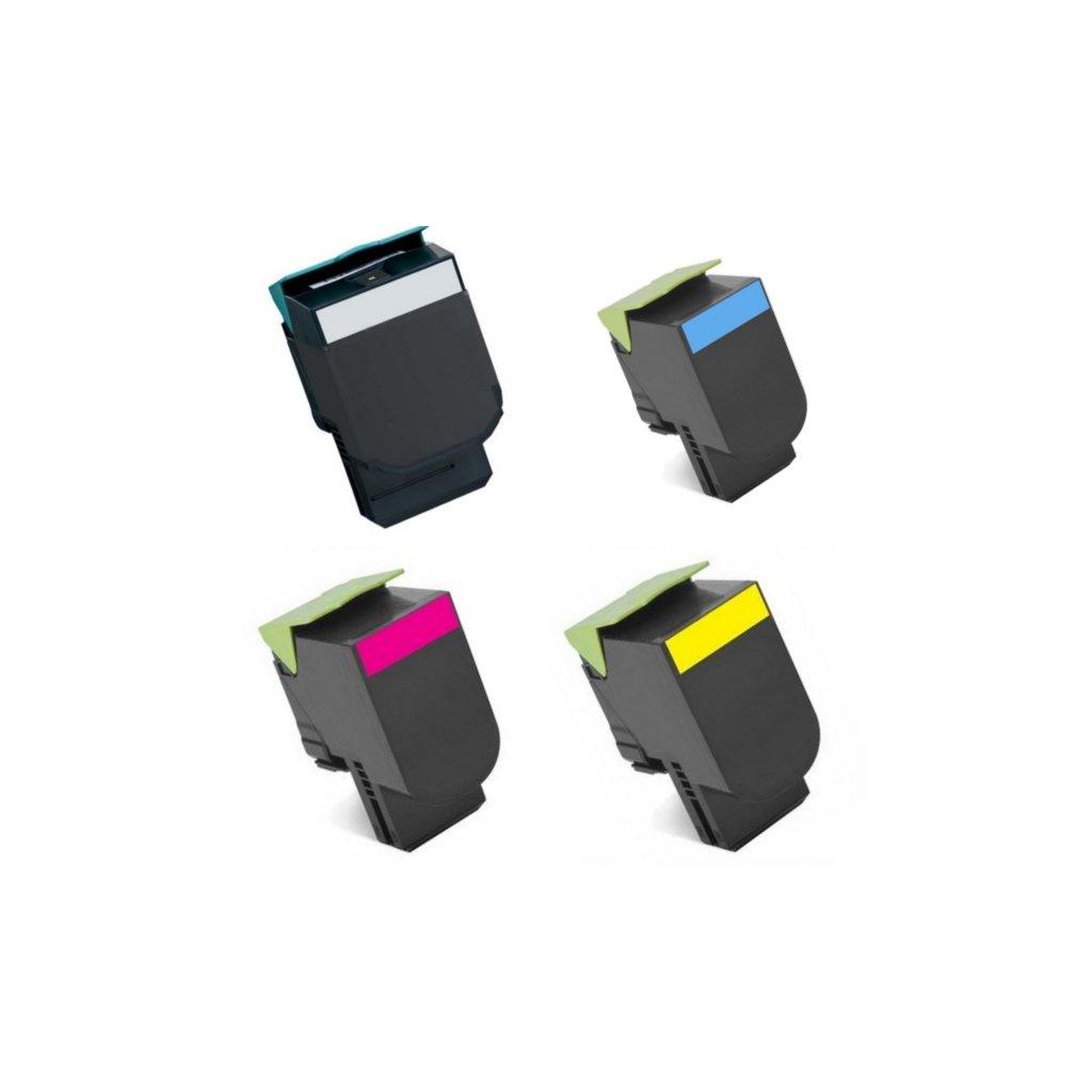 toner compatible cs317 cs417 cs517 cx317 cx417 cx517 a lexmark 71b20k0 71b20c0 71b20m0 71b20y0