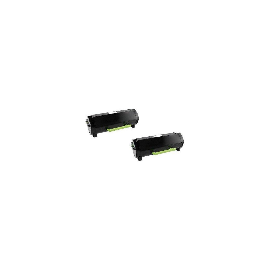 2x Toner kompatibel für LEXMARK MX310dn MX410de MX510de