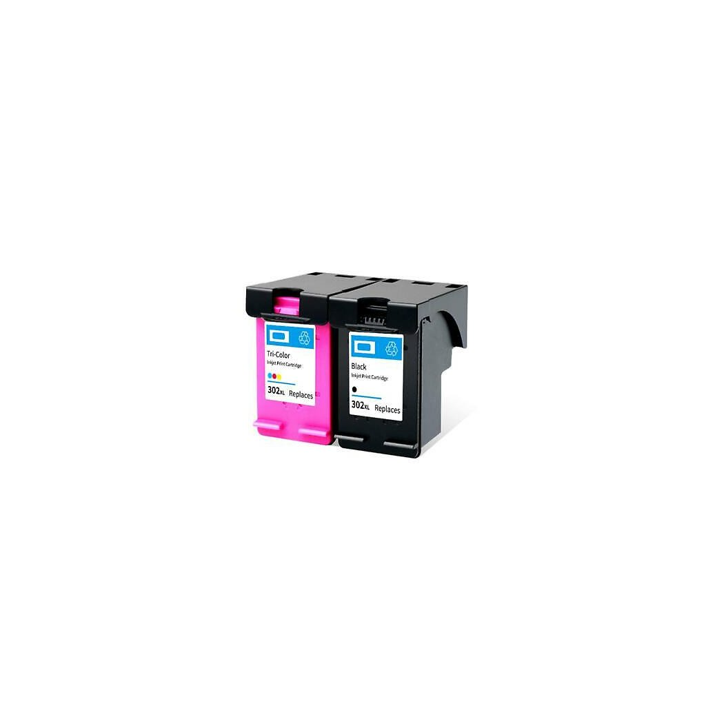 302XL Black Colour Remanufactured Ink Cartridge for HP