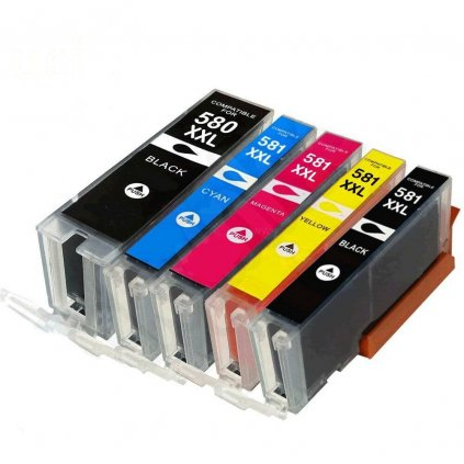 5 X PGI580 CLI581 UCI Ink Cartridge for