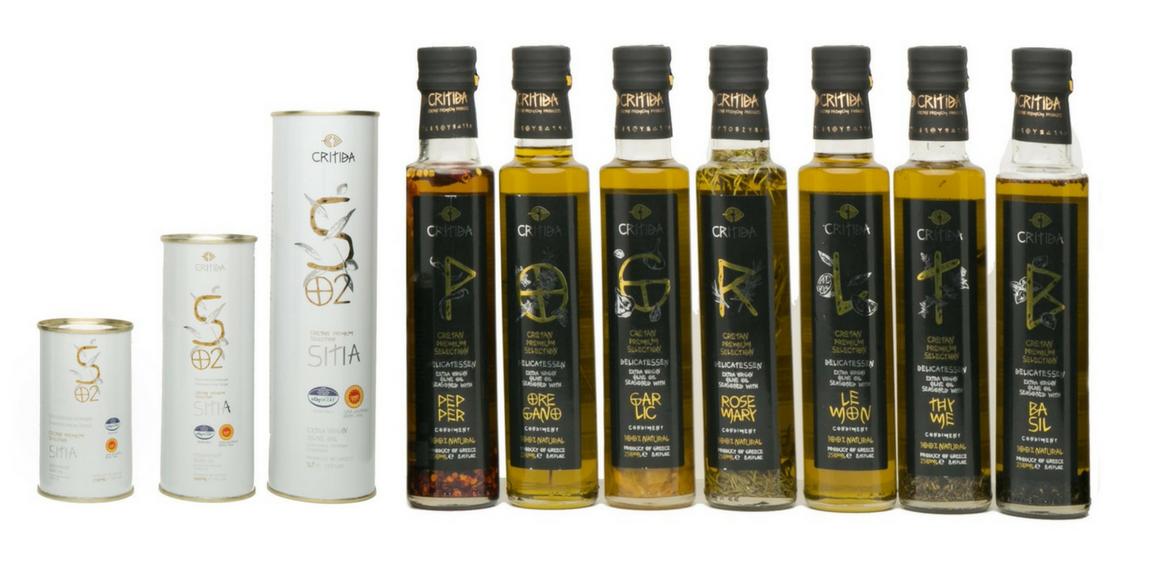 Extra panenské olivové oleje - ochucené
