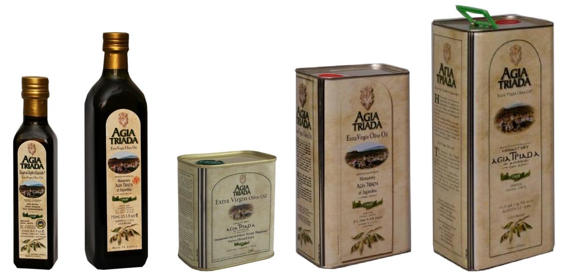 Výběrový extra panenský olivový olej Agia Triada