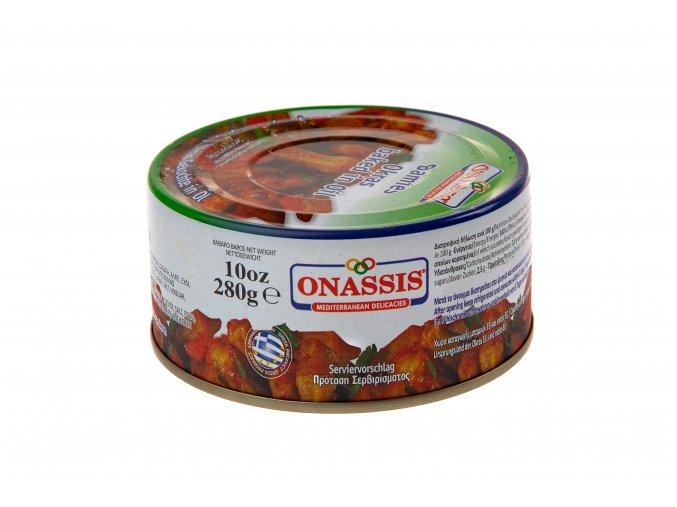 05 06 02 Pečená okra v oleji a v tomatě ONASSIS