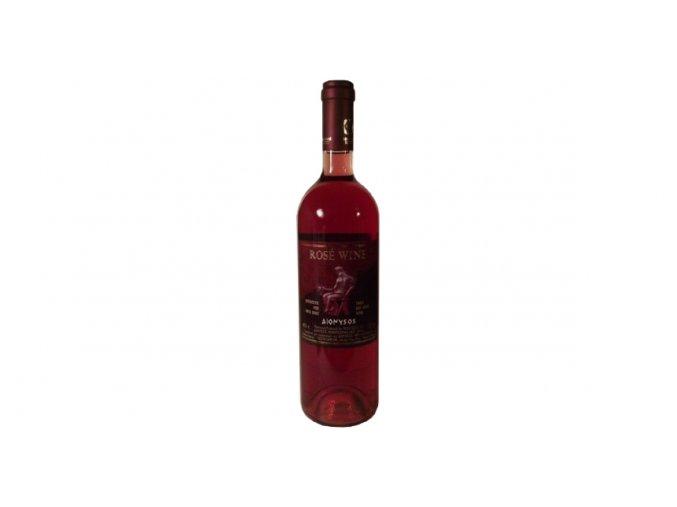 12 06 01 RŮŽOVÉ SUCHÉ VÍNO DIONYSOS 750 ml