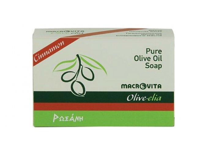 33026 Tradiční mýdlo z olivového oleje Skořicové