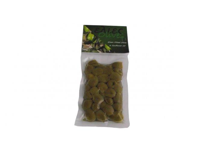 42 27 01 Vypeckované zelené olivy v oleji 100 g