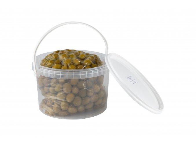 22 05 38 Zelené olivy s peckou velikost mamooth 5,3 kg
