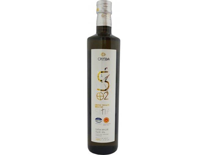 47 58 53 Extra pan. oliv. olej SITIA PDO 750 ml bílá sklo