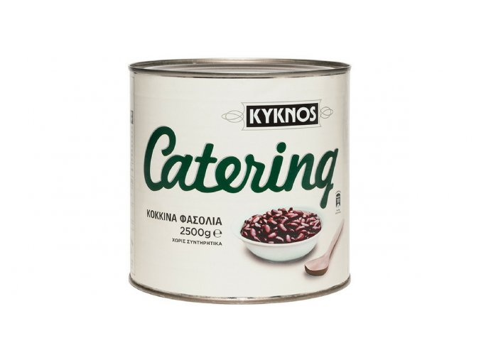 Červené fazole ve slaném nálevu 2,5 kg GASTRO