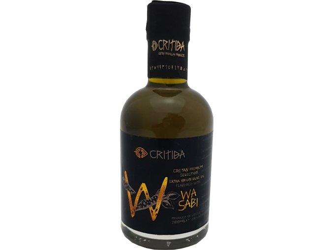 47 13 02 CRITIDA extra panenský olivový olej s wasabi