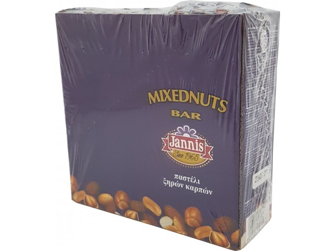 Oříšková mix tyčinka 40 g display box (10 ks)