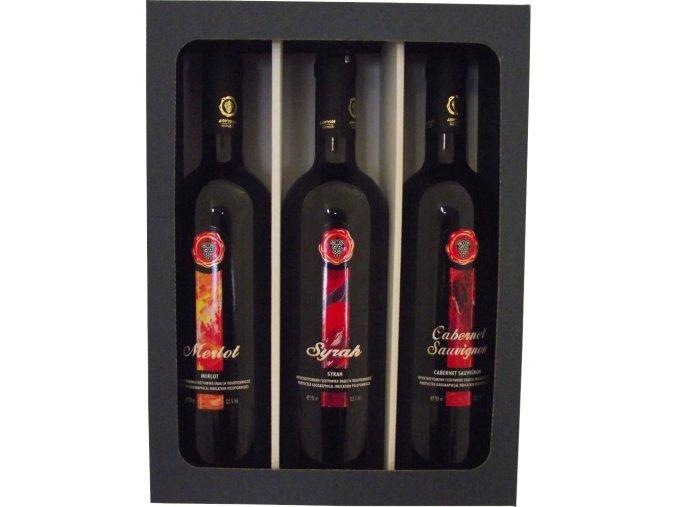 Dárková kazeta Nyx výběr červených suchých vín z Peloponésu