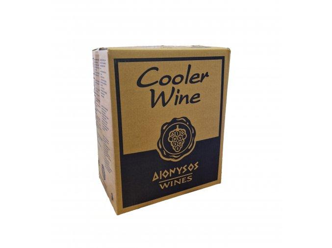 Imiglykos červené polosladké víno box 20 l