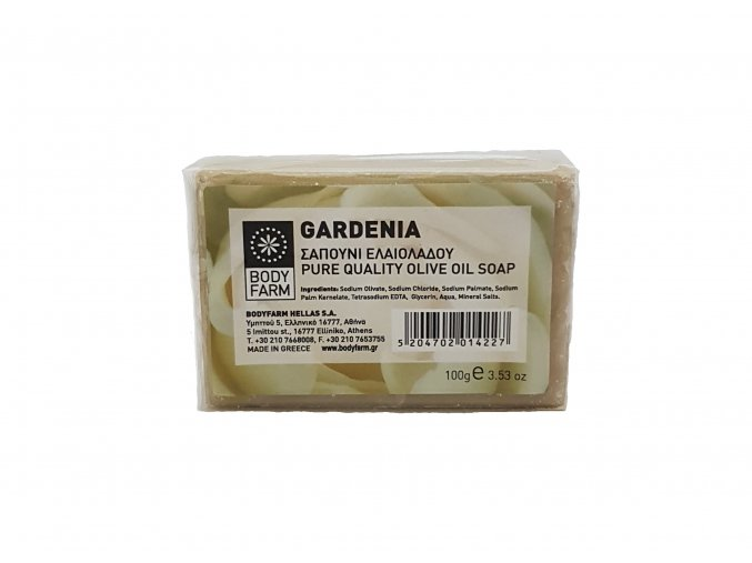 mýdlo gardenie