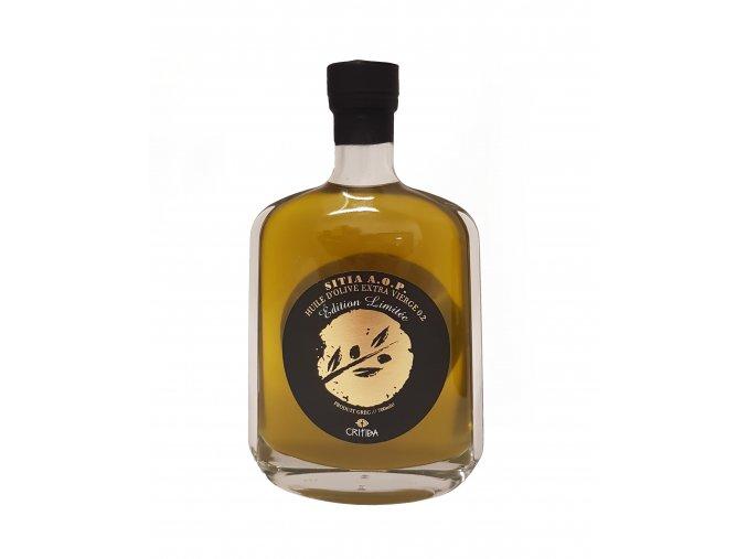 Extra panenský olivový olej Critida Attitude - průhlená láhev 700 ml - LIMITOVANÁ DESIGN EDICE