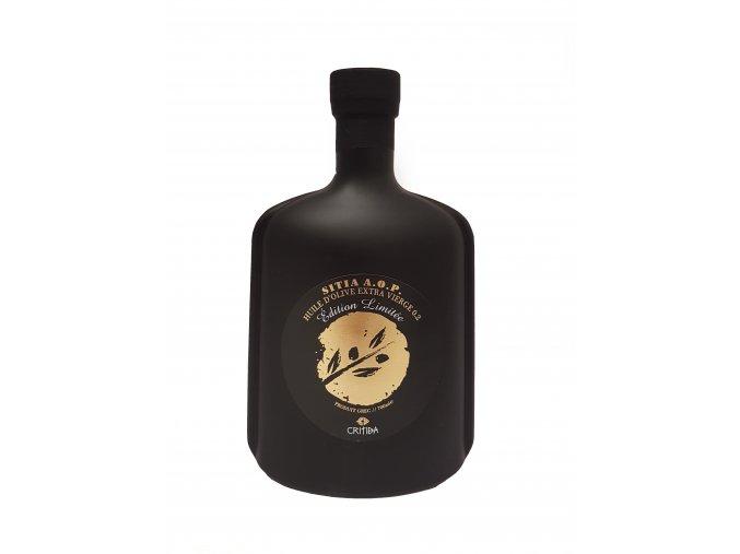 AKCE Extra panenský olivový olej Critida Attitude - černá láhev 700 ml - LIMITOVANÁ DESIGN EDICE