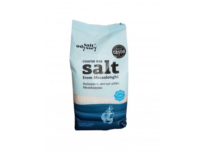 Salt Odyssey výběrová řecká mořská sůl HRUBÁ 1 kg