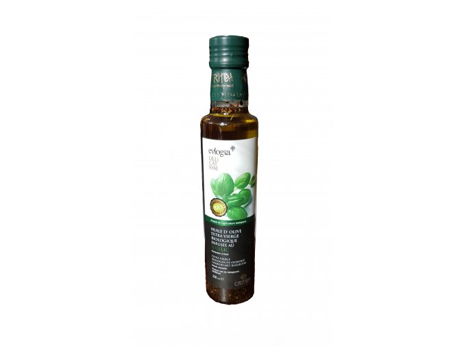 BIO Dressing s extra panenským olivovým olejem a bazalkou 250 ml