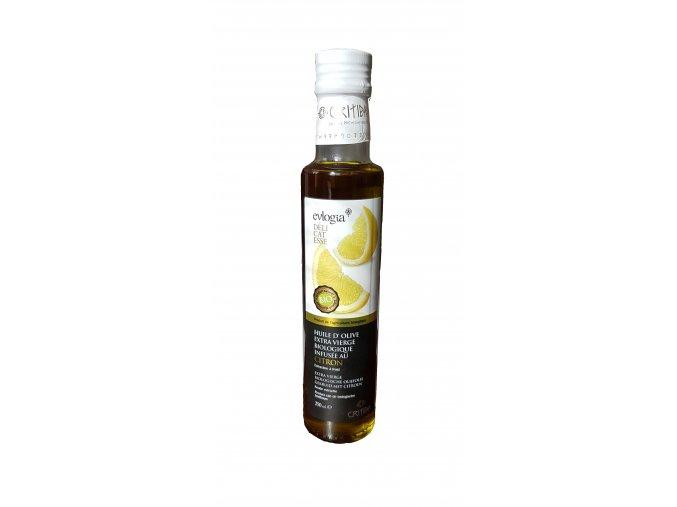 BIO Dressing s extra panenským olivovým olejem a citrónem 250 ml