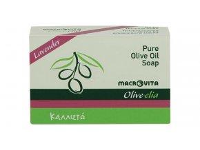 33024 Tradiční mýdlo z olivového oleje Levandulové