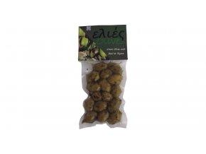 42 30 01 Zelené olivy s bazalkou a tymiánem 100 g