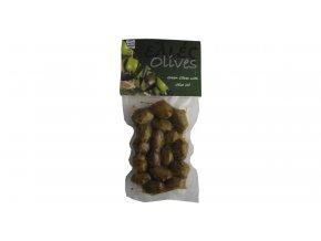 42 31 01 Zelené olivy s oregánem v EVOO 100 g