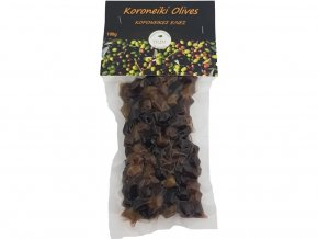 Olivy Koroneiki s peckou 115 g