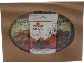 Řecké olivy do salátu