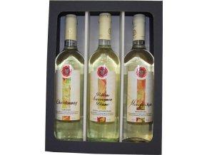 Dárková kazeta Hémerá výběr bílých suchých vín z Peloponésu