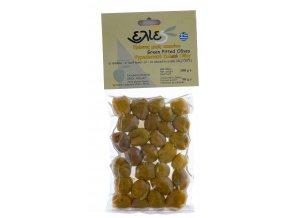 Vypeckované zelené olivy