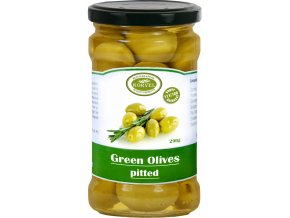 GREEN OLIVES PITTED 542x1024