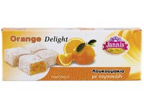 Lukumi s pomerančem 150 g JANNIS
