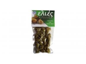 42 30 51 Olivy BEZ PECKY s bazalkou a tymiánem 100 g