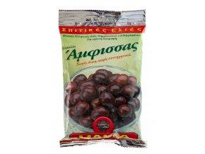 22 02 01 Olivy černé AMFISSA s peckou 250 g