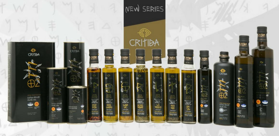 Extra panenské olivové oleje nové critida