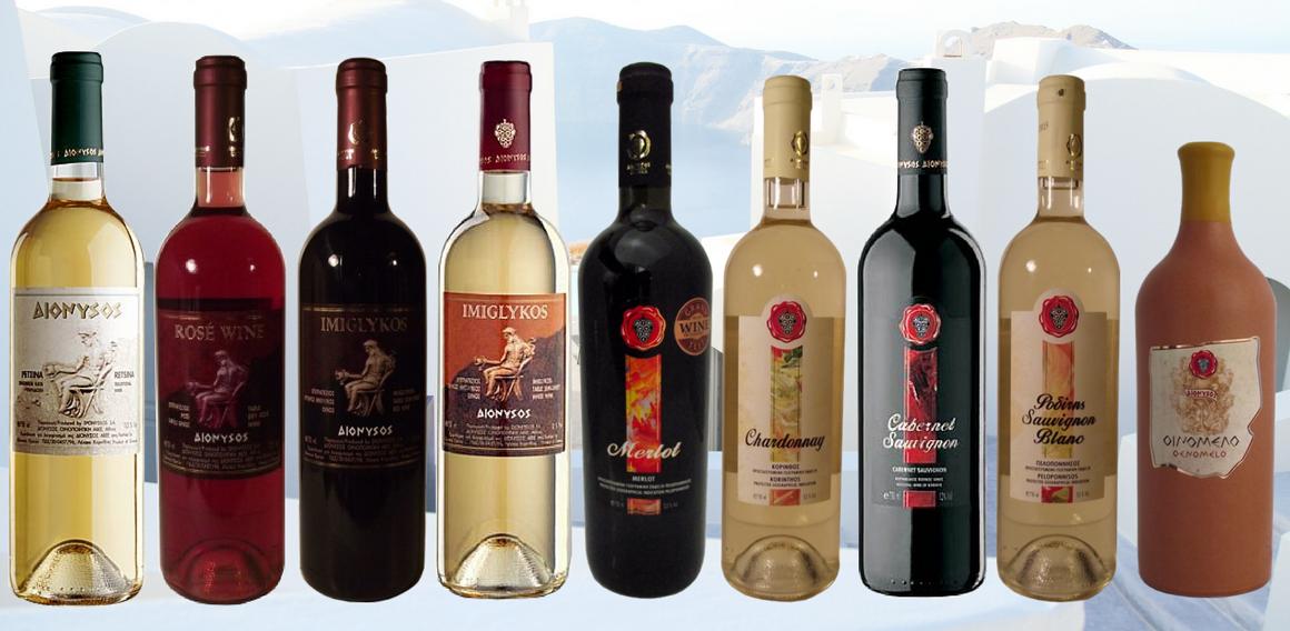 láhvová vína