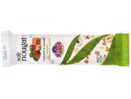 09 04 15 Jemný nugát s lískovými ořechy a karamelem 60 g