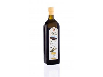 Extra panenský olivový olej 1 litr Agia Triada SKLO