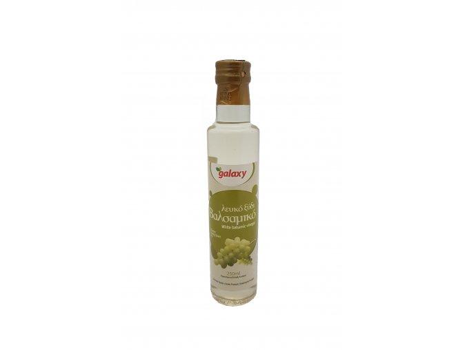 Bílý balsamikový ocet GALAXY acidita 6% 250 ml SKLO