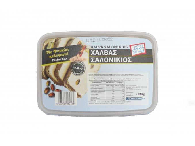 Sezamová chalva s pistáciemi 250 g hranatý kelímek