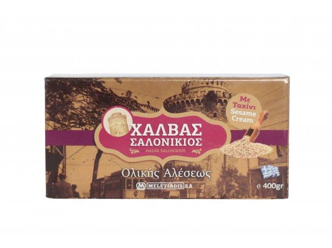 Řecká sezamová chalva celozrnná 400 g