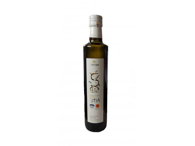 SITIA PDO Extra panenský olivový olej 500 ml bílá sklo LIMITED