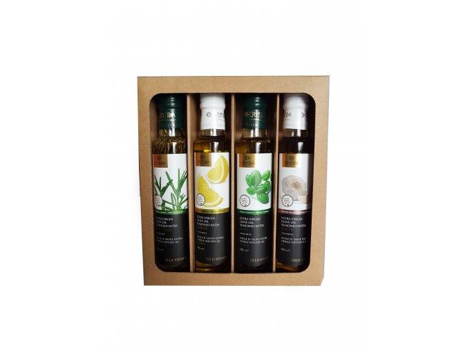 Dárková kazeta ochucených olejů II