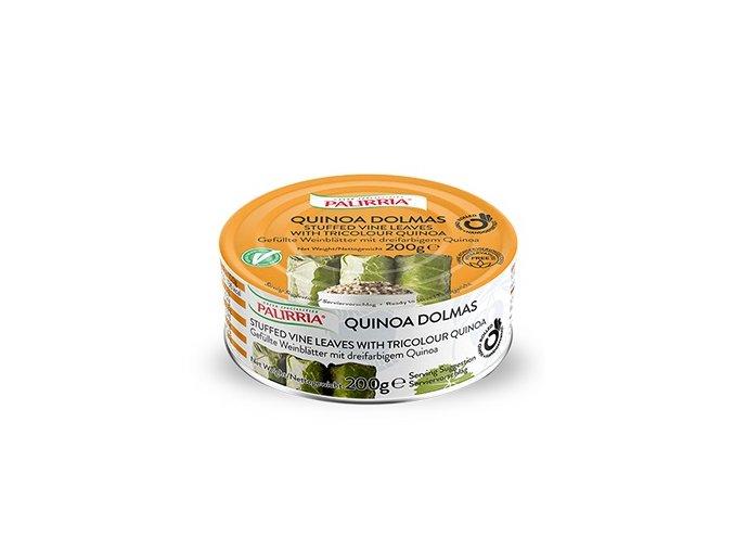 quinoa dolmas stuffed vine leaves with tricolour quinoa listen