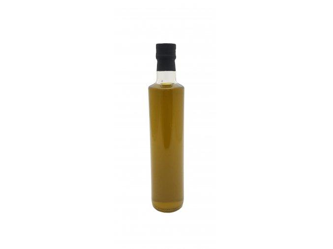 nefiltrovaný kulata láhev