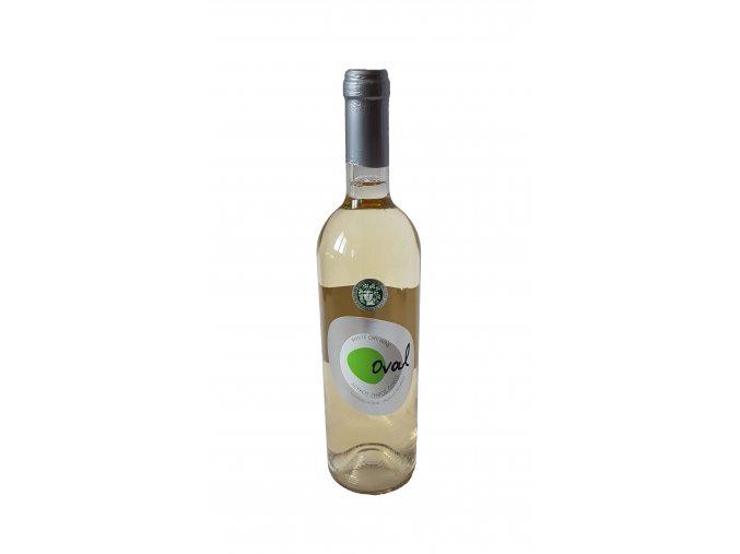 Bílé suché víno Oval 750 ml