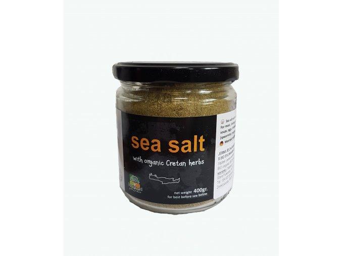 Mořská jemná sůl s bylinkami 400 g