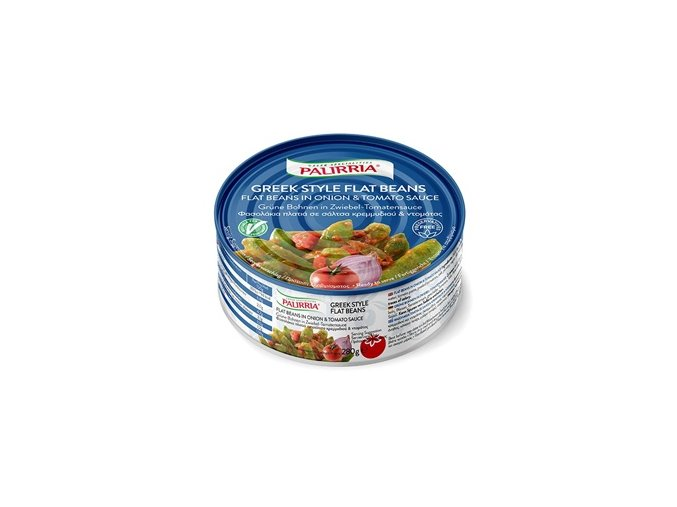 flat beans in onion tomato sauce listen