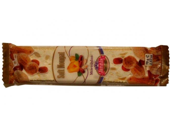 09 04 03 Nugátová tyčinka s arašídy 70 g