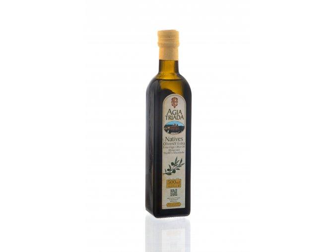 Extra panenský olivový olej 500 ml Agia Triada SKLO